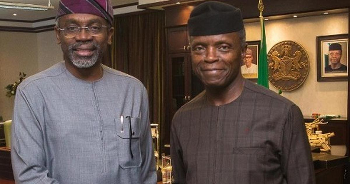 Gbajabiamila meets Osinbajo, promises to carry opposition along in committees
