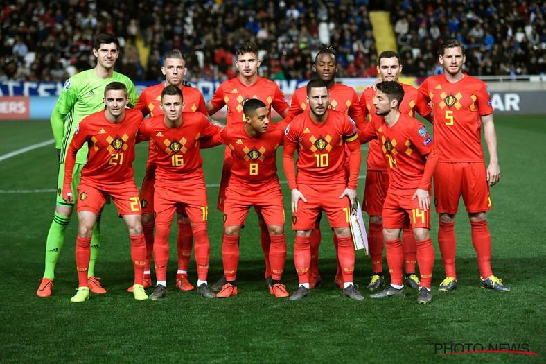 Belgium retain their number one position in world football (BelRedDevils/Twitter)