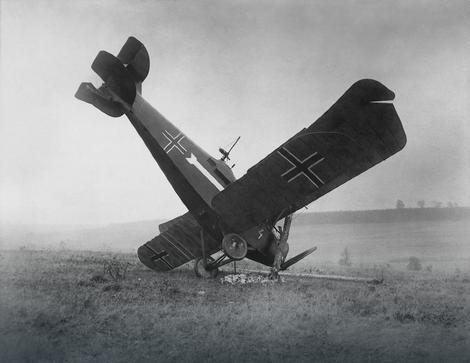 Nemački avion oboren u Prvom svetskom ratu:Prvo obaranje aviona desilo se uSrbiji