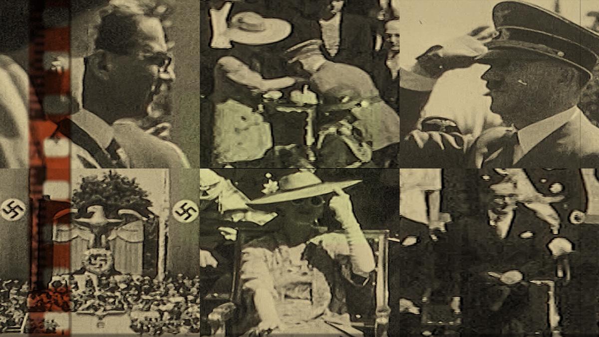 RIJEDAK SNIMAK: Ivo Andrić na nacističkoj vojnoj paradi u Njemačkoj