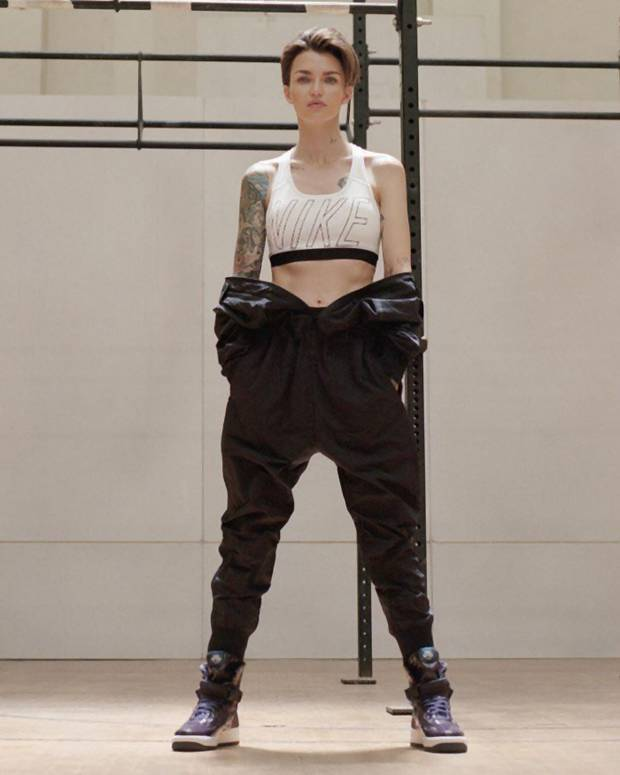 Ruby Rose w kampanii Nike Force is Female