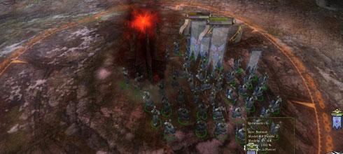 "Screen z gry ""Warhammer: Mark of Chaos"""