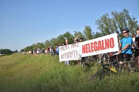 I biciklisti se bore za Savski nasip