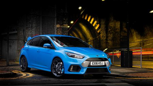 Ford Focus RS z pakietem mocy Mountune