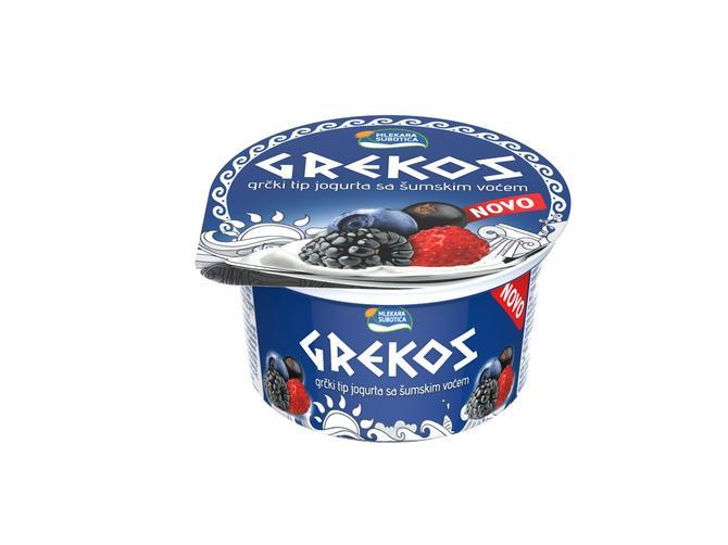 Novi ukusi Grekos jogurta – višnja i šumsko voće