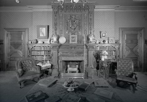Biblioteka u kući Marka Tvena