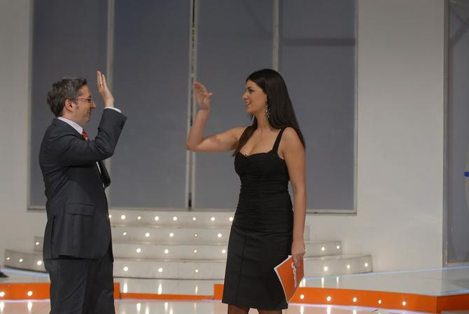 Marija i Deki Pantelić kao voditelji