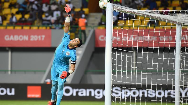 Esszám el-Hadari két büntetőt hárított a  elődöntőben /Fotó: AFP