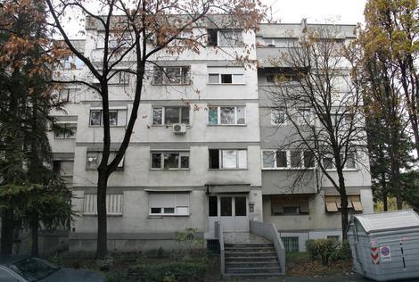 Zgrada gde je baka Anka živela