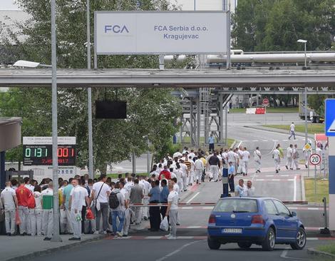 Štrajk u Fijatu
