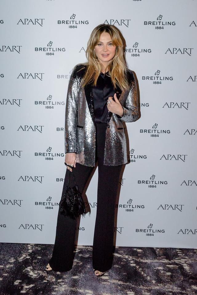 Stars at the premiere of the new Breitling and Apart collection