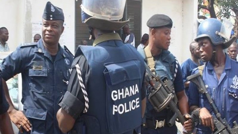 Video as four Nigerians are arrested in Ghana for kidnapping Canadians