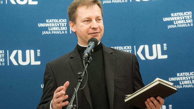 Rzecznik Konferencji Episkopatu Polski ks. Paweł Rytel-Andrianik