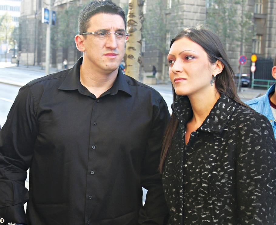 Kristijan Golubović i Ivana Veljković