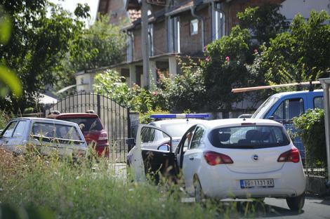 Policija ispred kuće Marjanovića