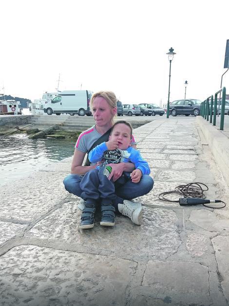 Marko sa majkom Jelenom