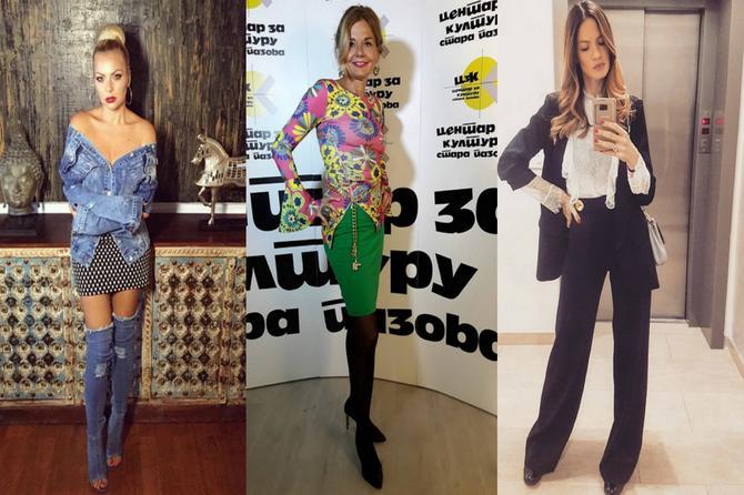Modni žiri: Hipi Mirjana, JEZIVE  teksas čizme i dve brinete koje dokazuju da je klasika uvek IN