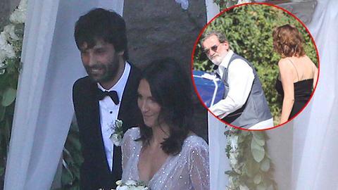 Žena našeg poznatog glumca koju dosad niste videli je OVAKVA došla na svadbu Tea i Jelisavete