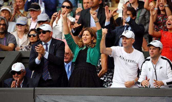Mirka Federer pre dva dana na Vimbldonu