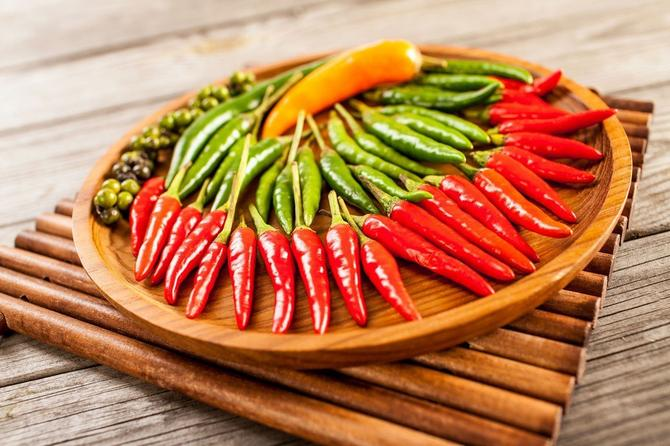 Paprika je izuzetno zdrava