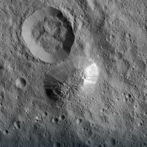Ahuna Mons na Ceresu