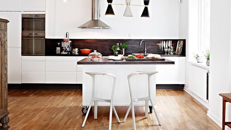 Biała kuchnia  najmodniejsza w Polsce  Dom -> Biala Kuchnia A Kolor Ścian