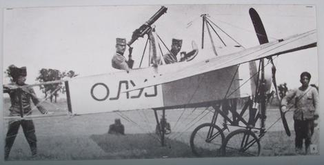 "Prvi srpski naoružani avion ""Oluj"", 1915. godina (FOTO:Miroslav Cika / Wikimedia Commons)"