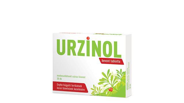 Vény nélkül kapható hagyományos növényi gyógyszer, medveszőlőlevél-kivonatot tartalmaz