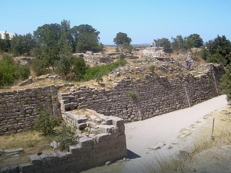 Ostaci Troje VII (1300-1190. pre n.e.) iz vremena kada se, najverovatnije, odigrao Trojanski rat