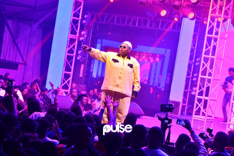 Teni the entertainer performing live at Homecoming concert 2019