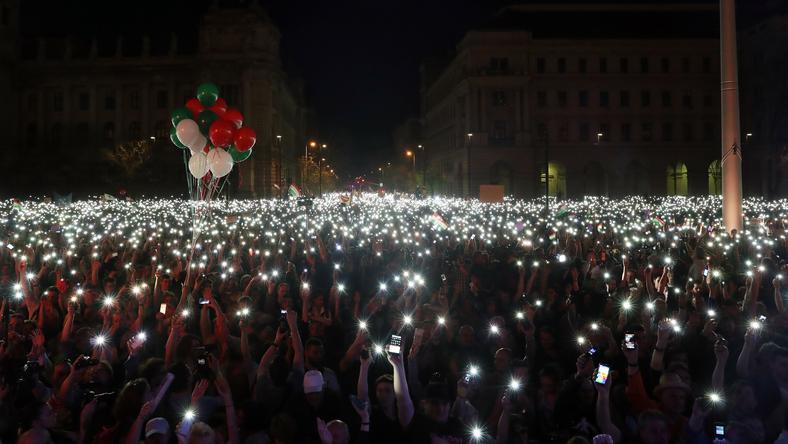 Tüntetés: Hivatalosan Véget ért A Tüntetés A Kossuth Téren