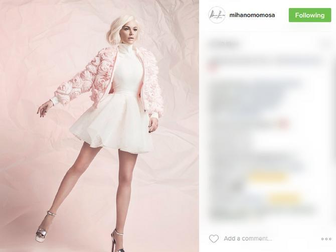 Nata KAO BOMBONA! Još jednom pokazala zašto je najveća modna ikona Balkana