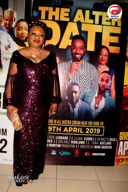 Yemisi Banjoko at the premiere of Alter Date' [Pulse]