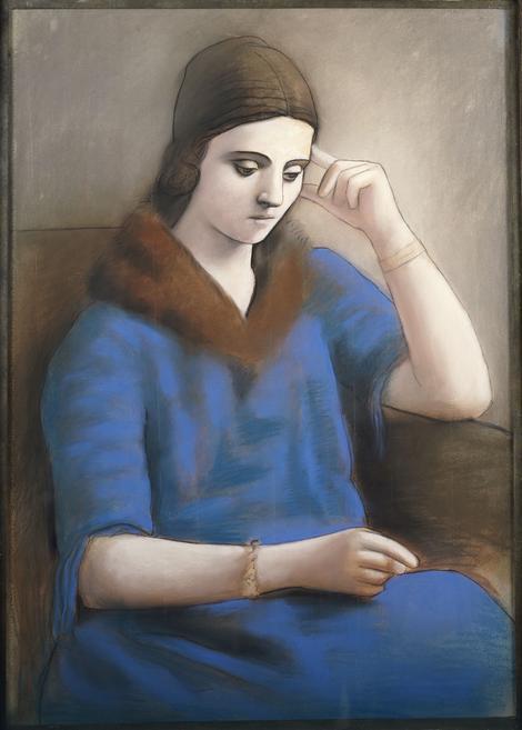 Zamišljena Olga, 1923.