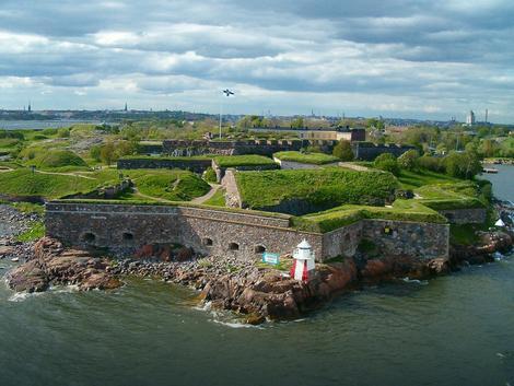 Tvrđava Suomenlina koja pripada gradu Helsinkiju