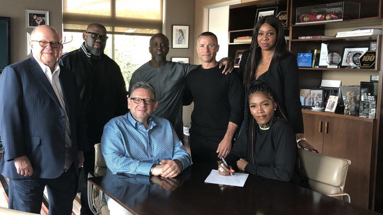 Tiwa Savage signs new deal with Universal Music