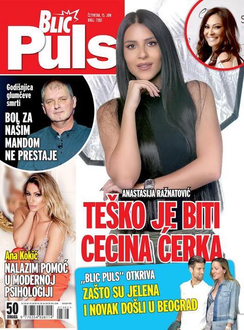 """Anastasija za novi broj """"Blic Pulsa"""": Teško je biti Cecina ćerka!"""
