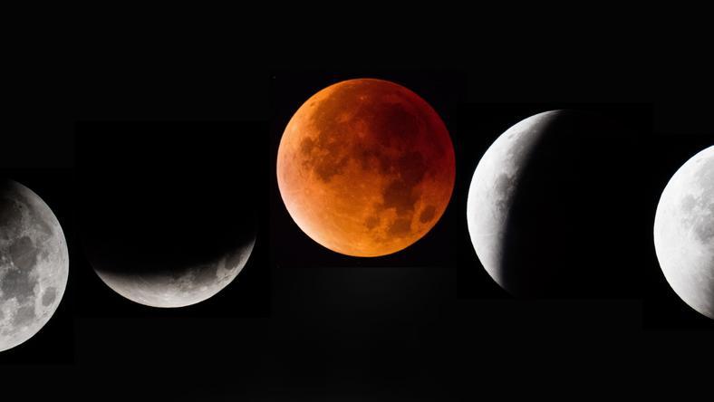 A Holdat fogyatkozás közben egy ideig vörösnek látjuk /Fotó: GettyImages