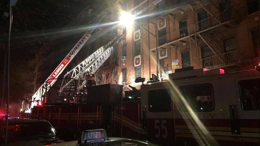 At Least 12 Dead In Bronx Apartment Building Fire