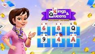 Gra: Kings and Queens Solitaire Tripeaks