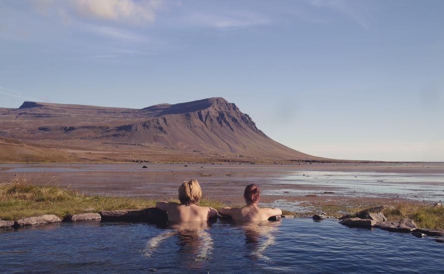 Darmowe gorące źródła na Islandii