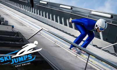 Gra: Ski Jumps