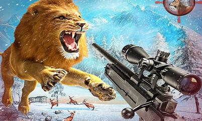 Gra: Wild animal hunting
