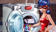 Gra: Ladybug Washing Costumes