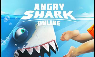 Jeu: Angry Shark Online