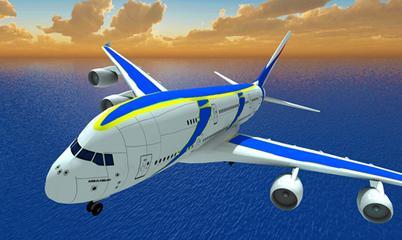 Gra: Airplane Fly Simulator