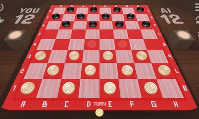 Gra: Checkers 3D