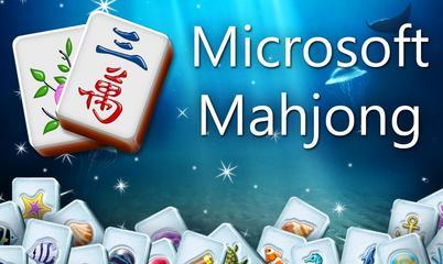 Spiel: Microsoft Mahjong