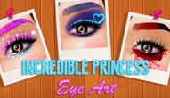 Gra: Incredible Princess Eye Art