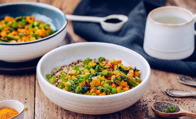 Kurkumowe curry